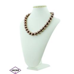 Naszyjnik perła brązowa - PER11 - 43/109