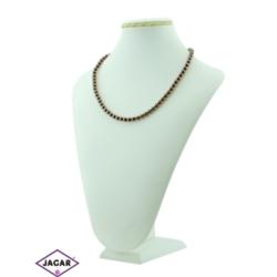 Naszyjnik perła brązowa - PER12 - 43/50