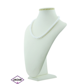 Naszyjnik perła mleczna - PER85 - 43/55