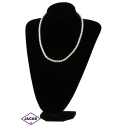Naszyjnik perła biała - PER94 - 50/67