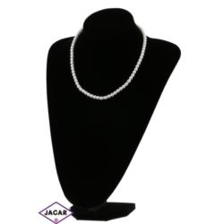 Naszyjnik perła biała - PER95 - 50/63