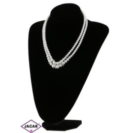 Naszyjnik perła biała - PER103 - 63/139