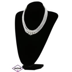 Naszyjnik perła biała - PER104 - 63/145