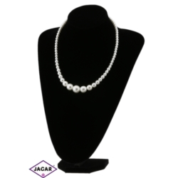 Naszyjnik perła biała - PER106 - 50/18