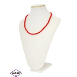 Naszyjnik perła czerwona - PER163 43/49