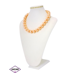 Naszyjnik perła łososiowa - PER213 43/109