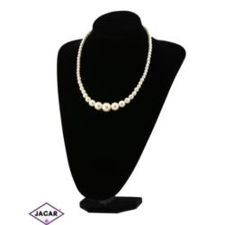 Naszyjnik perła ecru - PER226 50/109