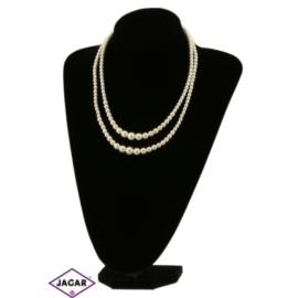Naszyjnik perła ecru - PER243 43/16