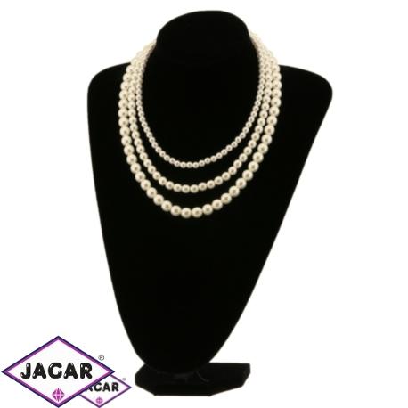 Naszyjnik perła ecru - PER244 63/134