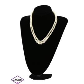 Naszyjnik perła ecru - PER245 63/137