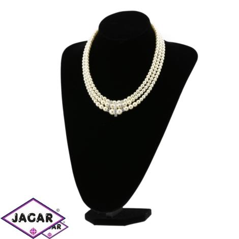 Naszyjnik perła ecru - PER246 63/143