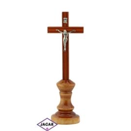 Krzyż drewniany - dł: 24cm KR01