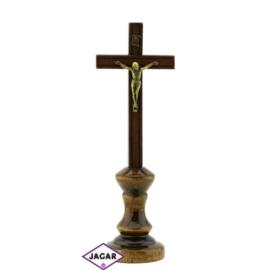 Krzyż drewniany - dł: 24cm KR02