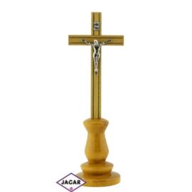 Krzyż drewniany - dł: 24cm KR03