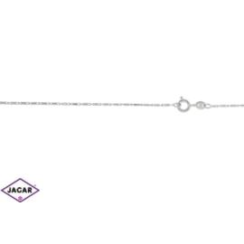 Łańcuszek rodowany - dł: 50cm LAP334