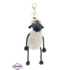 Brelok futrzany - owca - długość: 30cm PU101