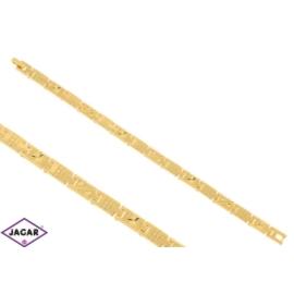 Bransoletka pozłacana Xuping - 20cm - BP707