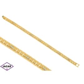 Bransoletka pozłacana Xuping - 19cm - BP713