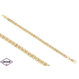 Bransoletka pozłacana Xuping - 18cm - BP739