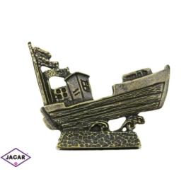 Figurka metalowa - statek - 1 szt/op - FR148