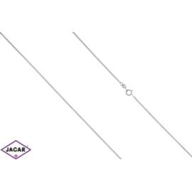 Łańcuszek rodowany - dł: 50cm LAP375