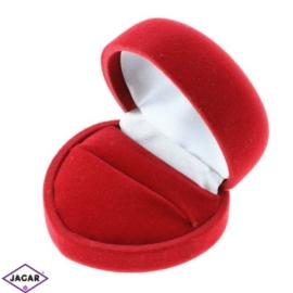 Pudełko czerwone, etui - śr. 4,5cm