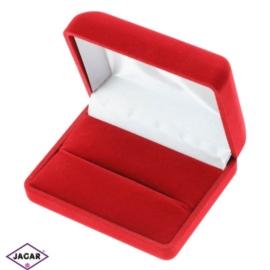 Pudełko czerwone, etui - śr. 7,8cm
