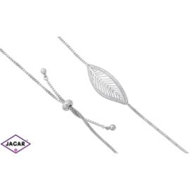 Bransoletka rodowana Xuping - 26cm - BP1062