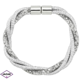 Bransoletka z kryształami - dł: 20 cm BRA470