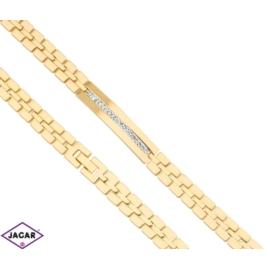 Bransoletka pozłacana Xuping - 19,5cm - BP1095