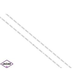 Łańcuszek rodowany Xuping - dł: 60cm LAP446