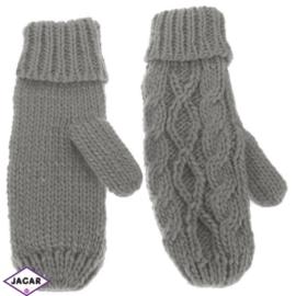 Rękawiczki - szary - długość 24cm RK406