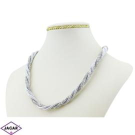 Naszyjnik z kryształami - 50cm - NA647