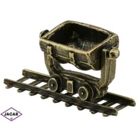 Figurka wagonik i tory - 10szt. - 2,3cm FR160