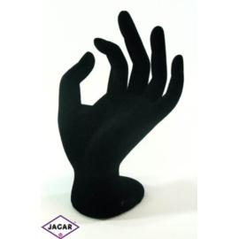 Ekspozytor - dłoń, ręka - czarna