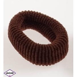 Frotki do włosów - mix kolorów brązowych - 40szt.