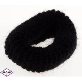 Frotki do włosów - czarne - 40szt