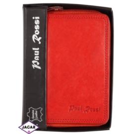 Portfel - damski - czerwony - 12,3x9,6cm P8