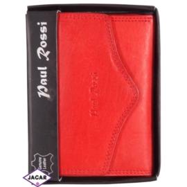 Portfel - damski - czerwony - 12,8x9,5cm P10