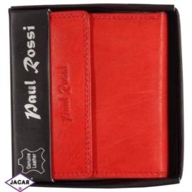 Portfel - damski - czerwony - 10,6x9,8cm P11