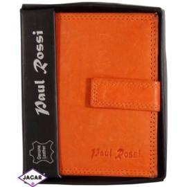 Portfel - damski - pomarańczowy - 11,5x9cm P12