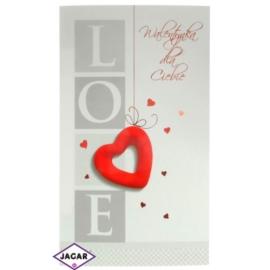 Pocztówka Walentynkowa przestrzenna 44932-2
