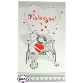 Pocztówka Walentynkowa przestrzenna 44932-3