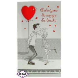 Pocztówka Walentynkowa przestrzenna 44932-4