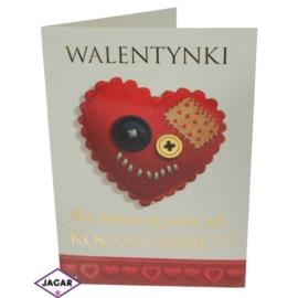 Pocztówka Walentynkowa 44703-9