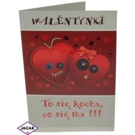 Pocztówka Walentynkowa 44703-12