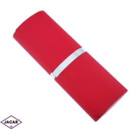 Etui na okulary - czerwone - 16cmx6cm EO49