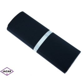 Etui na okulary - czarne - 16cmx6cm EO50