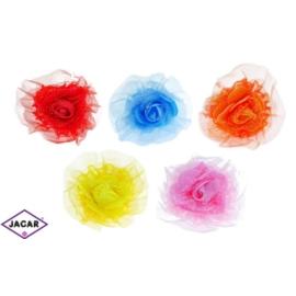 Gumki - kolorowe duże róże - 12 szt/op - OG92