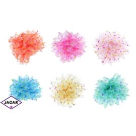 Gumki - kolorowe duże kwaty - 6 szt/op - OG93